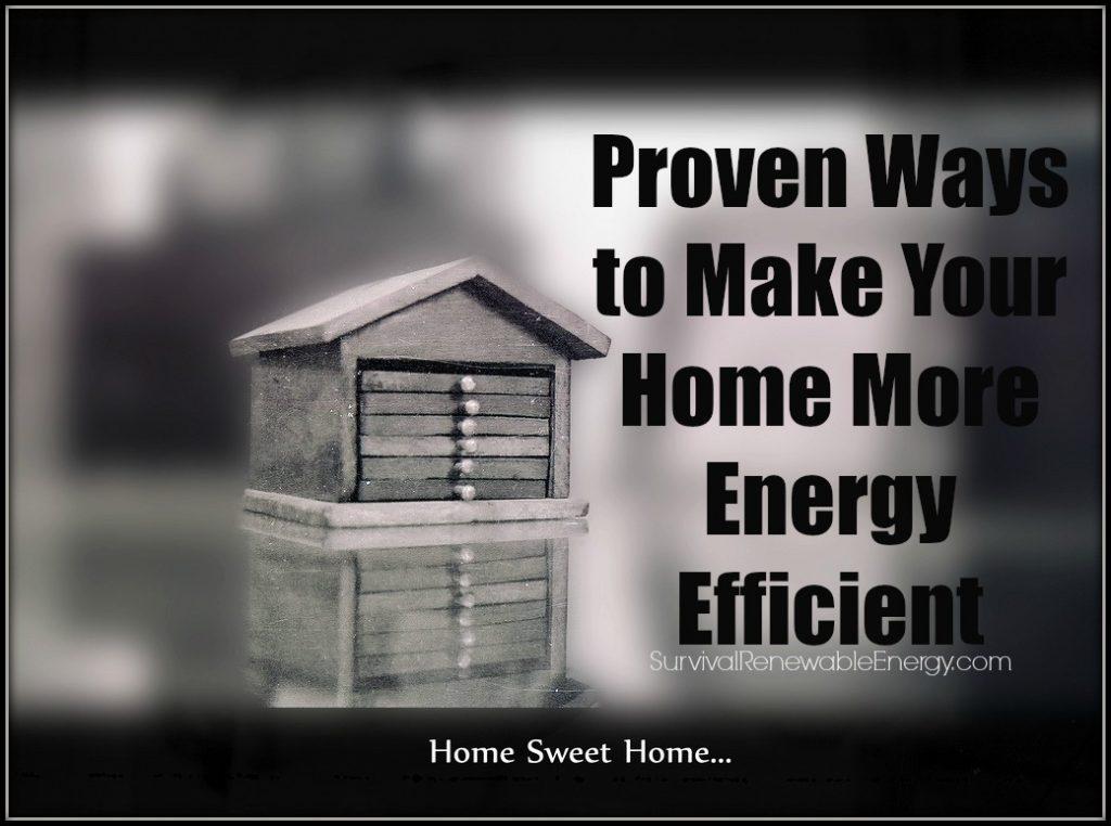 5 maneras de hacer su hogar más eficiente en el uso de la energía