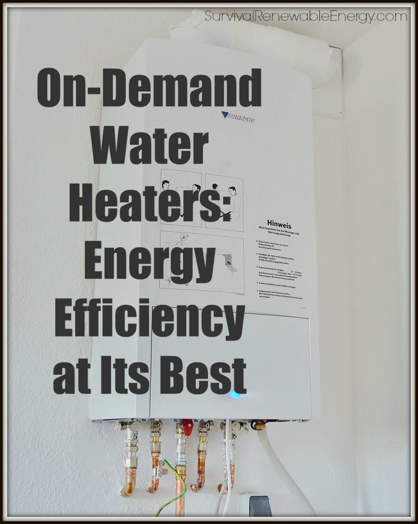 On-Demand Water Heaters: Energy Efficiency at Its Best