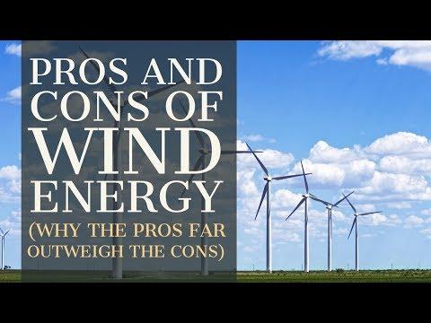 Los Pros y Contras de la Energía Eólica (Por qué los Pros superan con creces a los Contras) 1