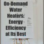 Calentadores de Agua Bajo Demanda: La Eficiencia Energética en su Mejor