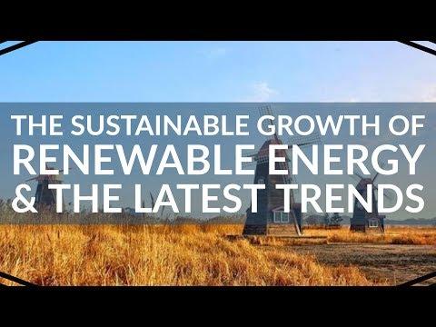 Crecimiento sostenible de la energía renovable en 2020