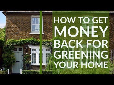 obtener dinero de vuelta para la ecologización de su casa