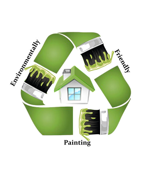Patriotic Painting Eco Friendly Logo