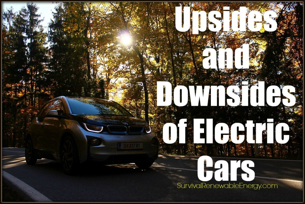 Upsides and Downsides of Electric Cars