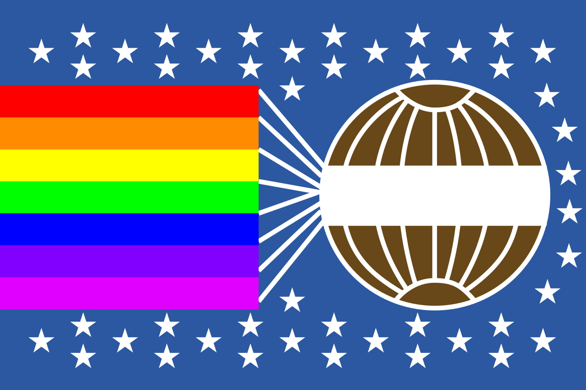 Peace Congress flag