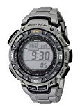 Casio: Men€0027s Pathfinder Triple-Sensor Watch