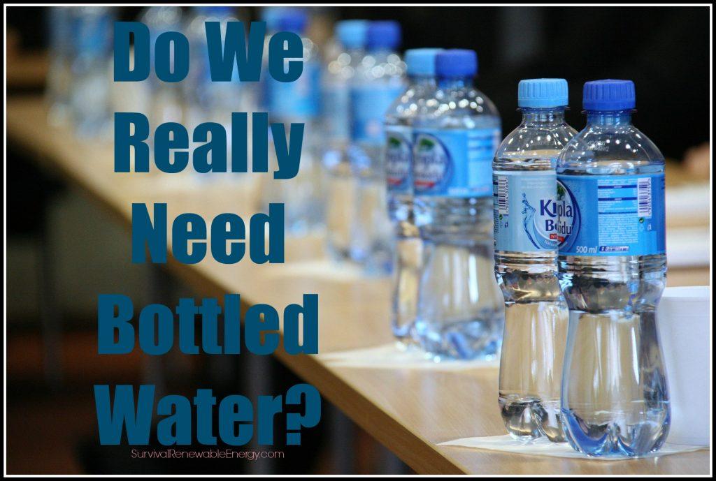 Datos sobre el agua embotellada – ¿Realmente necesitamos agua embotellada?